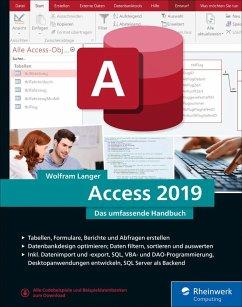 Access 2019 (eBook, ePUB) - Langer, Wolfram