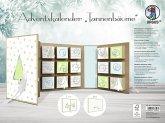 """URSUS Adventskalender Buch """"Tannenbäume"""""""