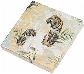Save the Tiger Papierservietten Motiv Königstiger