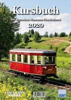 Kursbuch der deutschen Museums-Eisenbahnen 2020
