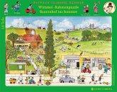 Wimmel-Rahmenpuzzle Bauernhof im Sommer (Kinderpuzzle)