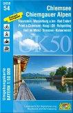 Chiemsee - Chiemgauer Alpen 1 : 50 000 (UK50-54)