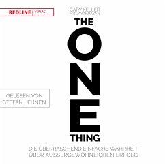 The One Thing, 1 MP3-CD - Keller, Gary; Papasan, Jay