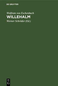 Willehalm (eBook, PDF) - Eschenbach, Wolfram Von