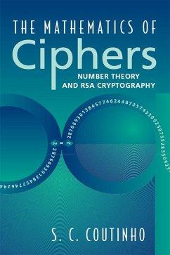 The Mathematics of Ciphers (eBook, PDF) - Coutinho, S. C.