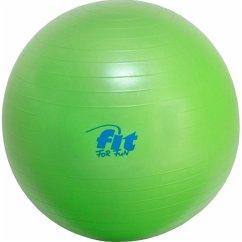 Fit4Fun Gymnastikball 65cm grün