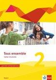 Tous ensemble 2. Ausgabe Bayern. Cahier d'activités mit Audio- und Video-Dateien online 2. Lernjahr