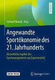 Angewandte Sportökonomie des 21. Jahrhunderts (eBook, PDF)