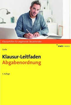 Klausur-Leitfaden Abgabenordnung (eBook, PDF) - Große, Thomas