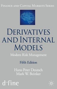 Derivatives and Internal Models (eBook, PDF) - Deutsch, Hans-Peter; Beinker, Mark W.