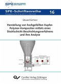 Herstellung von hochgefüllten Kupfer-Polymer- Kompositen mittels eines Strahlschicht- Beschichtungsverfahrens und ihre Analyse (eBook, PDF)