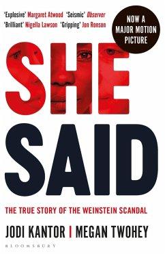 She Said (eBook, ePUB) - Kantor, Jodi; Twohey, Megan