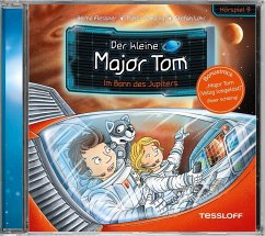 Im Bann des Jupiters / Der kleine Major Tom Bd.9 (Audio-CD) - Flessner, Bernd; Schilling, Peter