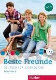 Beste Freunde A1/2. Arbeitsbuch mit Audio-CD