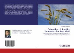 Estimation of Stability Parameters for Seed Yield
