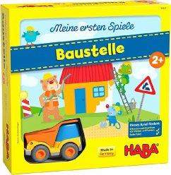 HABA Meine ersten Spiele - Baustelle (Kinderspiel)