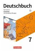 Deutschbuch Gymnasium 7. Schuljahr - Zu den Ausgaben Allg. Ausg., NDS - Arbeitsheft mit interaktiven Übungen auf scook.de