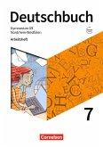Deutschbuch Gymnasium 7. Schuljahr - Nordrhein-Westfalen - Arbeitsheft mit Lösungen