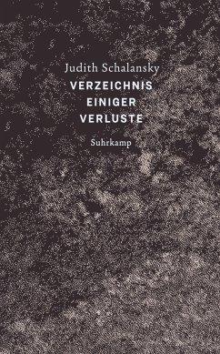 Verzeichnis einiger Verluste - Schalansky, Judith