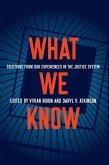 What We Know (eBook, ePUB)