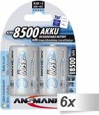 6x2 Ansmann maxE NiMH Akku Mono D 8500 mAh 5035362