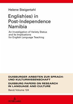 English(es) in Post-Independence Namibia - Steigertahl, Helene