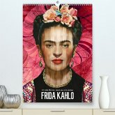 Frida Kahlo - Ich male Blumen, damit sie nicht sterben (Premium, hochwertiger DIN A2 Wandkalender 2020, Kunstdruck in Hochglanz)