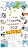Krickel-Krakel Familienkalender 2021