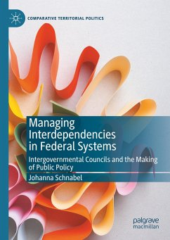 Managing Interdependencies in Federal Systems - Schnabel, Johanna
