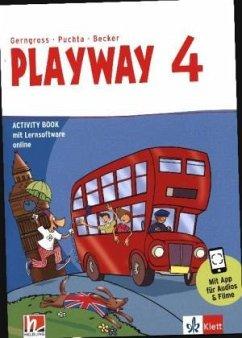 Playway 4. Ab Klasse 3. Activity Book mit digitalen Übungen Klasse 4