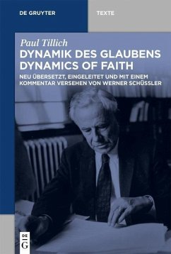 Dynamik des Glaubens (Dynamics of Faith) - Tillich, Paul