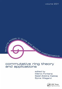 Commutative Ring Theory and Applications (eBook, PDF)