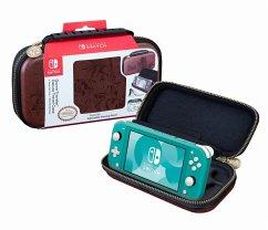 Nintendo GAME TRAVELER, DELUXE TRAVEL CASE NLS142BR, Zelda, für Nintendo Switch Lite, Tasche, braun