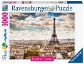 Ravensburger 14087 - Beautiful Skylines, Paris, Puzzle, 1000 Teile