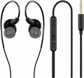 ACME HE23 In Ear Headphones with Microphone black