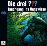 Tauchgang ins Ungewisse / Die drei Fragezeichen - Hörbuch Bd.203 (1 Audio-CD)