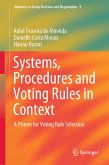 Systems, Procedures and Voting Rules in Context (eBook, PDF)