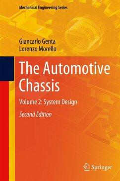 The Automotive Chassis - Genta, Giancarlo; Morello, Lorenzo