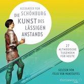 Die Kunst des lässigen Anstands, 8 Audio-CD