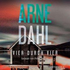 Vier durch vier / Berger & Blom Bd.4 (2 MP3-CDs) - Dahl, Arne