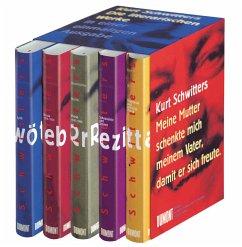 Das literarische Werk, in 5 Bdn. (Restauflage) - Schwitters, Kurt