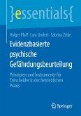Evidenzbasierte psychische Gefährdungsbeurteilung (eBook, PDF)