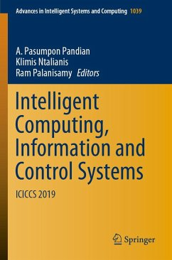 Intelligent Computing, Information and Control Systems (eBook, PDF)