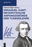 Immanuel Kant: Metaphysische Anfangsgründe der Tugendlehre (eBook, ePUB)