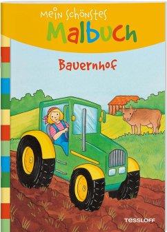 Mein schönstes Malbuch. Bauernhof