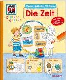 WAS IST WAS Kindergarten Malen Rätseln Stickern Die Zeit