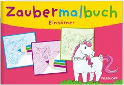 Zaubermalbuch: Einhörner