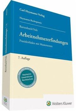 Arbeitnehmererfindungen - Bartenbach, Kurt; Volz, Franz-Eugen