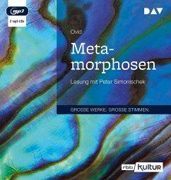 Metamorphosen, 2 Audio- CD, MP3 - Ovid