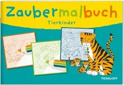 Zaubermalbuch: Tierkinder